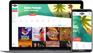 spinia casino laptop
