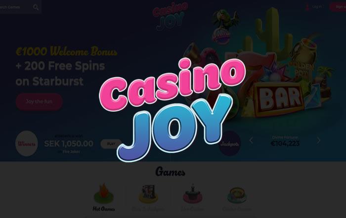 Gokken bij casino Joy