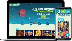 crazyno casino laptop